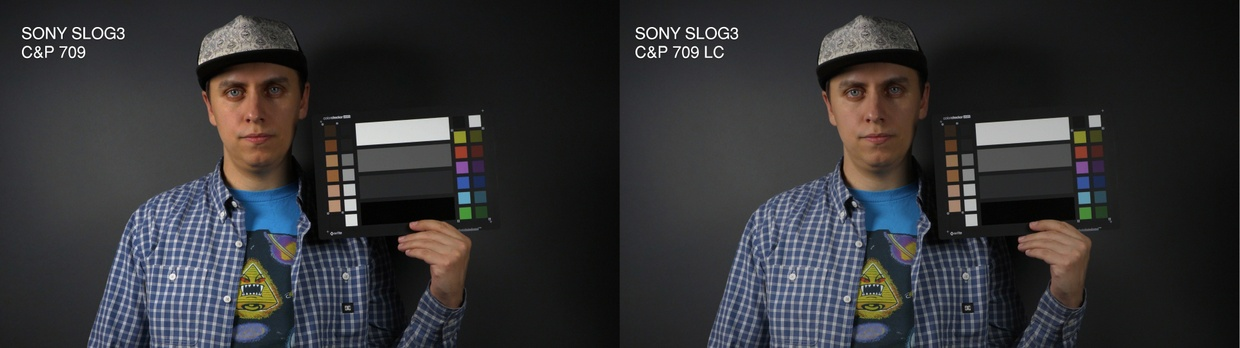 Sony to Canon LUT Package