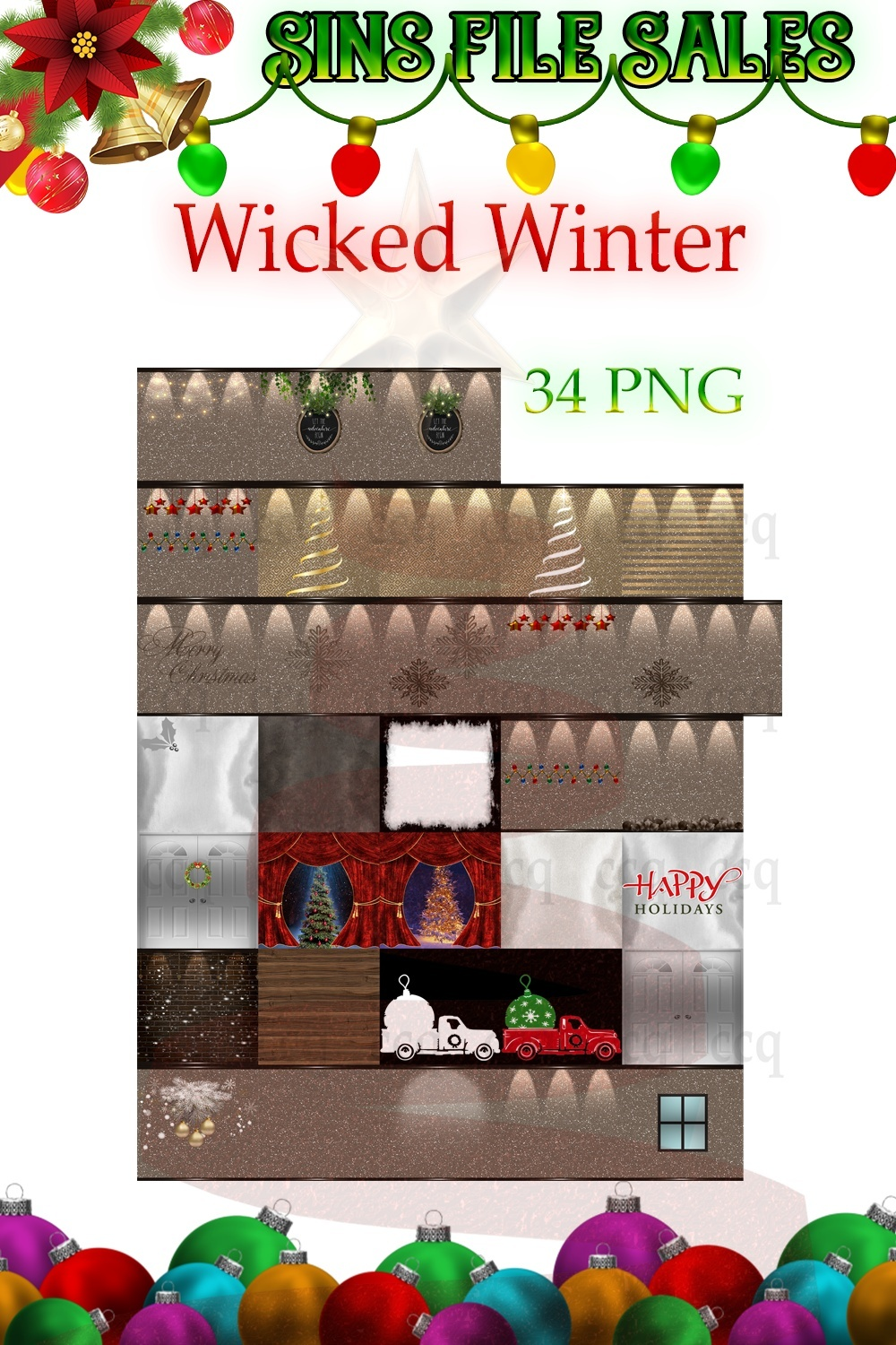 Wicked Winter-Textures 34 Png