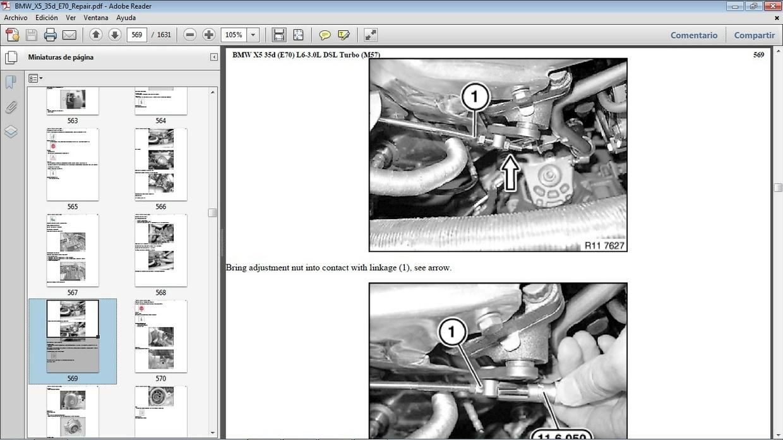 BMW X5 35d E70 Workshop Repair Manual