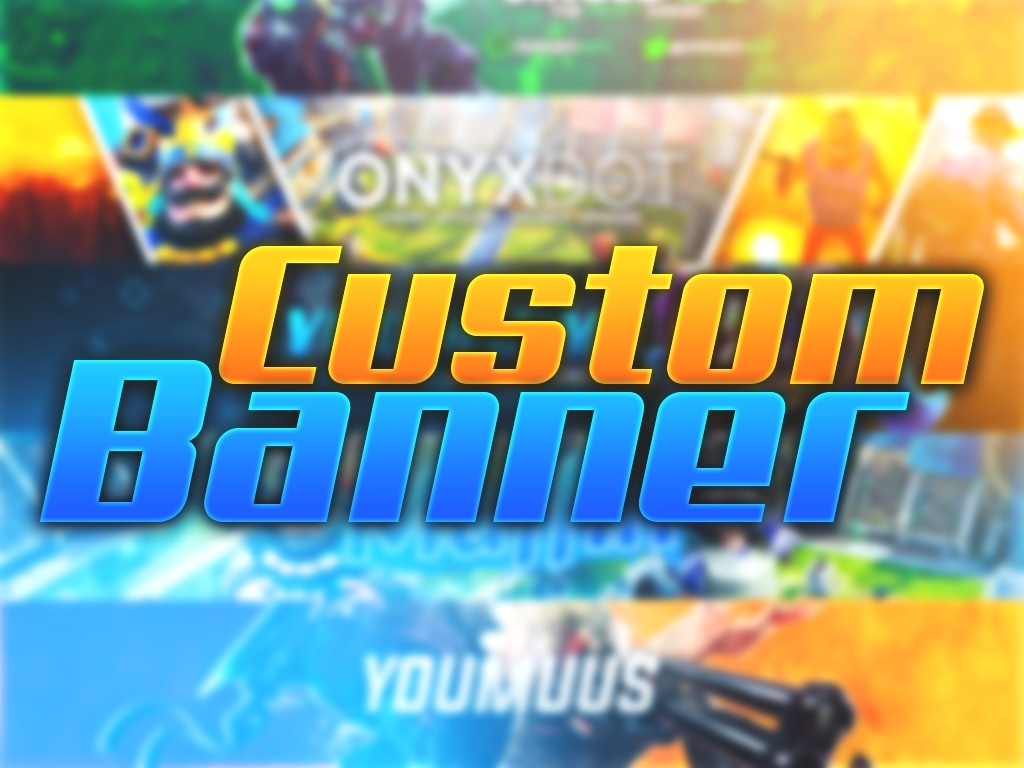 Custom Youtube Banner