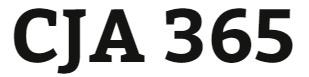 CJA 365 Week 2 Agency Budget Paper