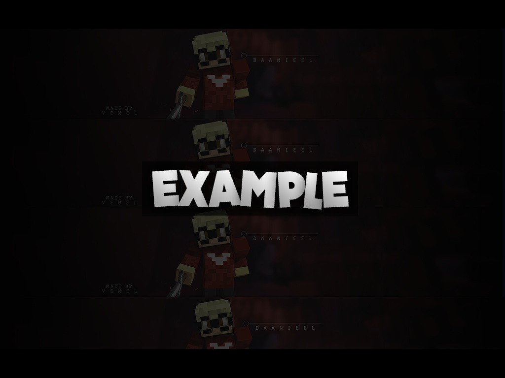 BANNER & PROFILE PICTURE | (For example for YouTube, Twitch, Teamspeak)