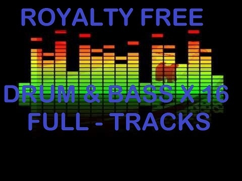 ROYALTY FREE MUSIC - DRUM AND BASS COLLECTION COMMERCIAL USE MP3 DOWNLOAD