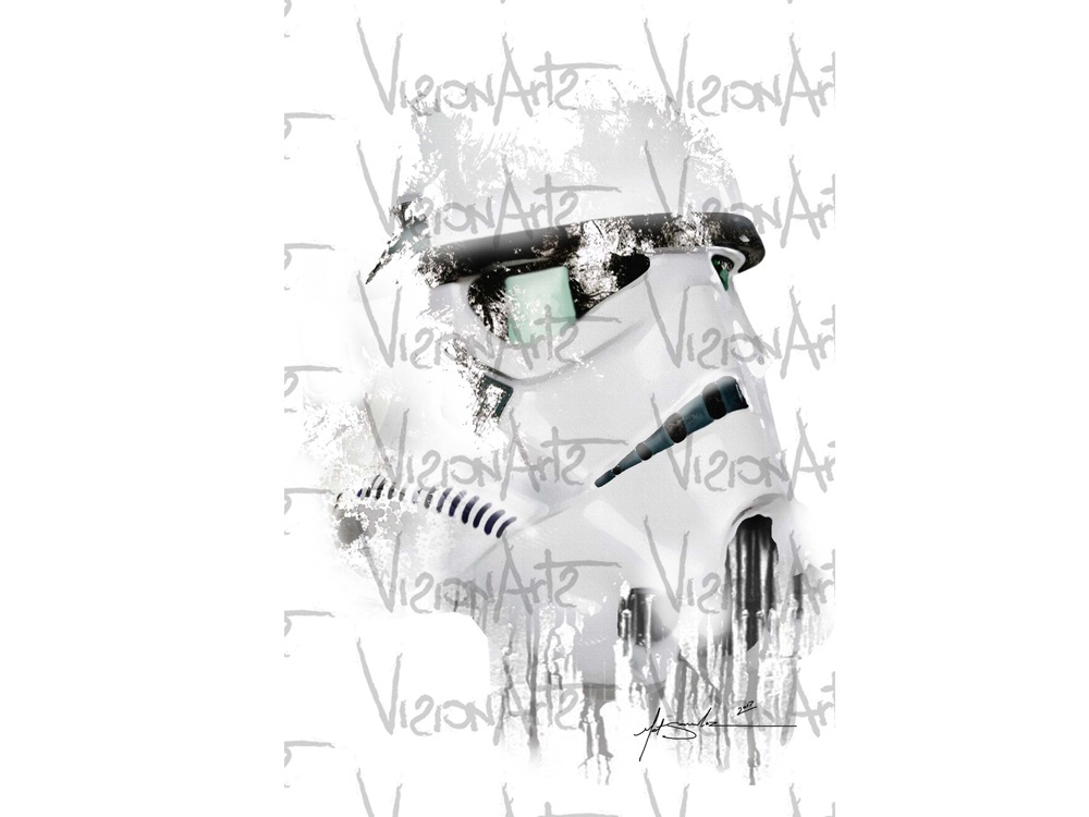 Stormtrooper Art Poster