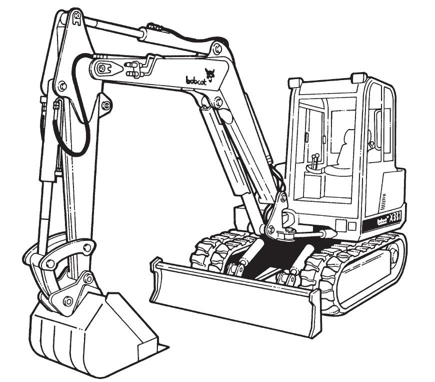 Bobcat X 337 341 Compact Excavator Service Repair Manual Download(S/N 515411001 & Above ...)