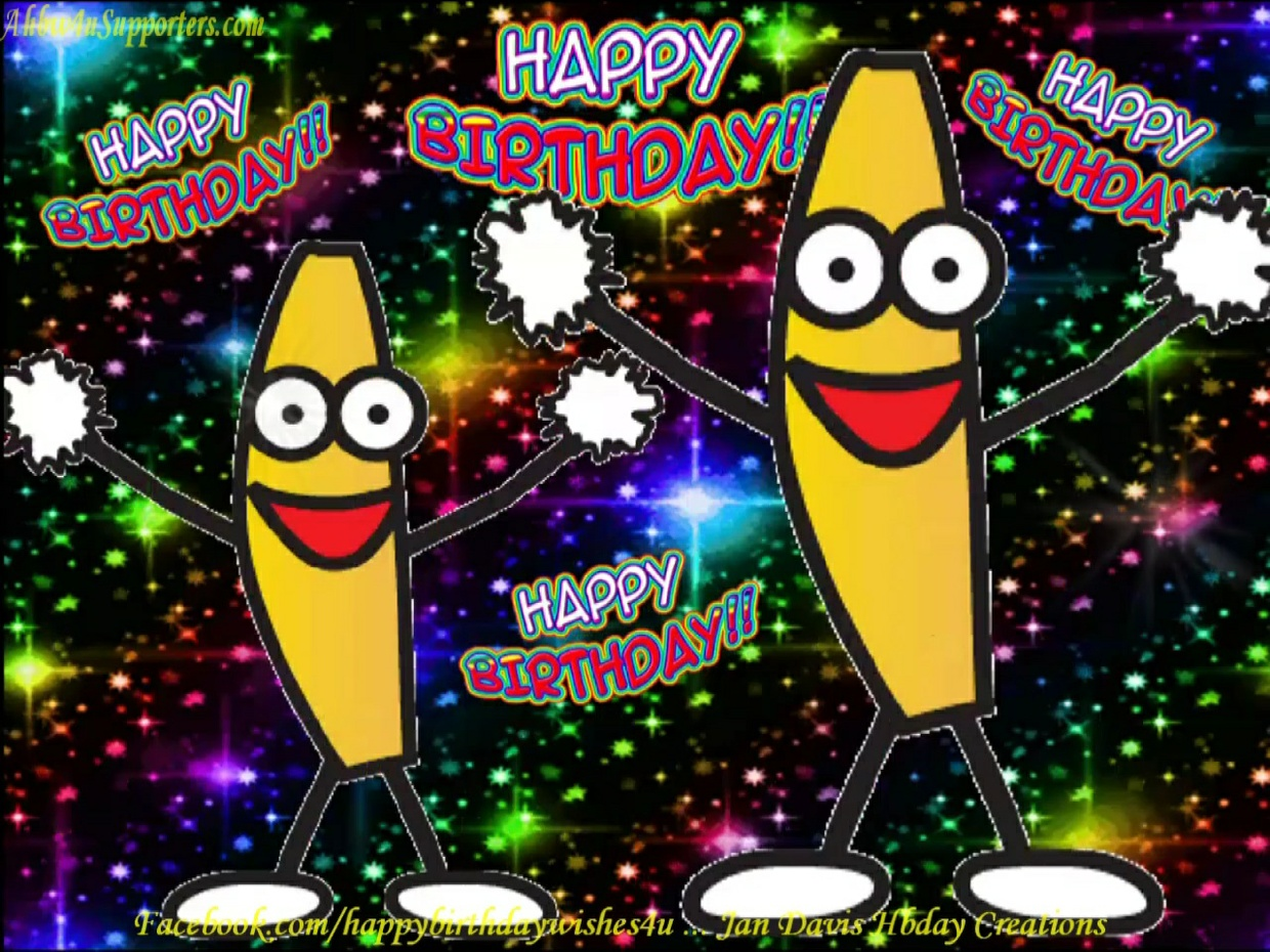 Banana Dance Hbday Wishes