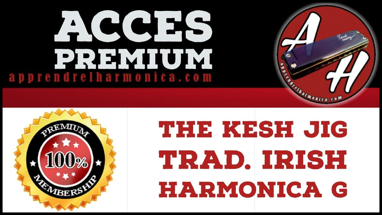The Kesh Jig - Harmonica G