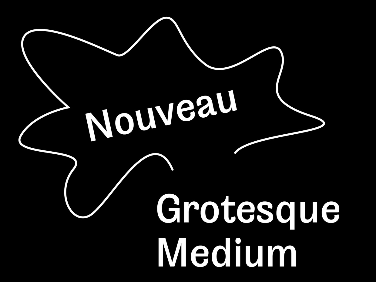 Nouveau Grotesque Medium Desktop 1-3 User
