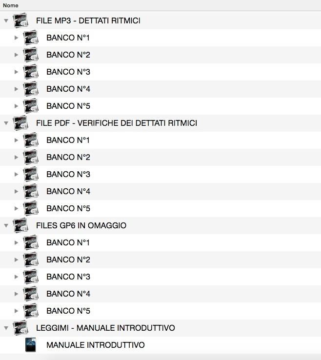 UNICO VOLUME - DETTATO RITMICO COLLECTION VOLUME 1