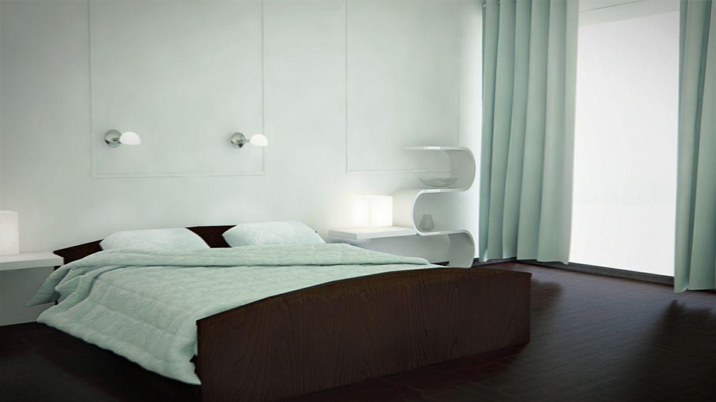 VrayforC4D Bed Room Setup