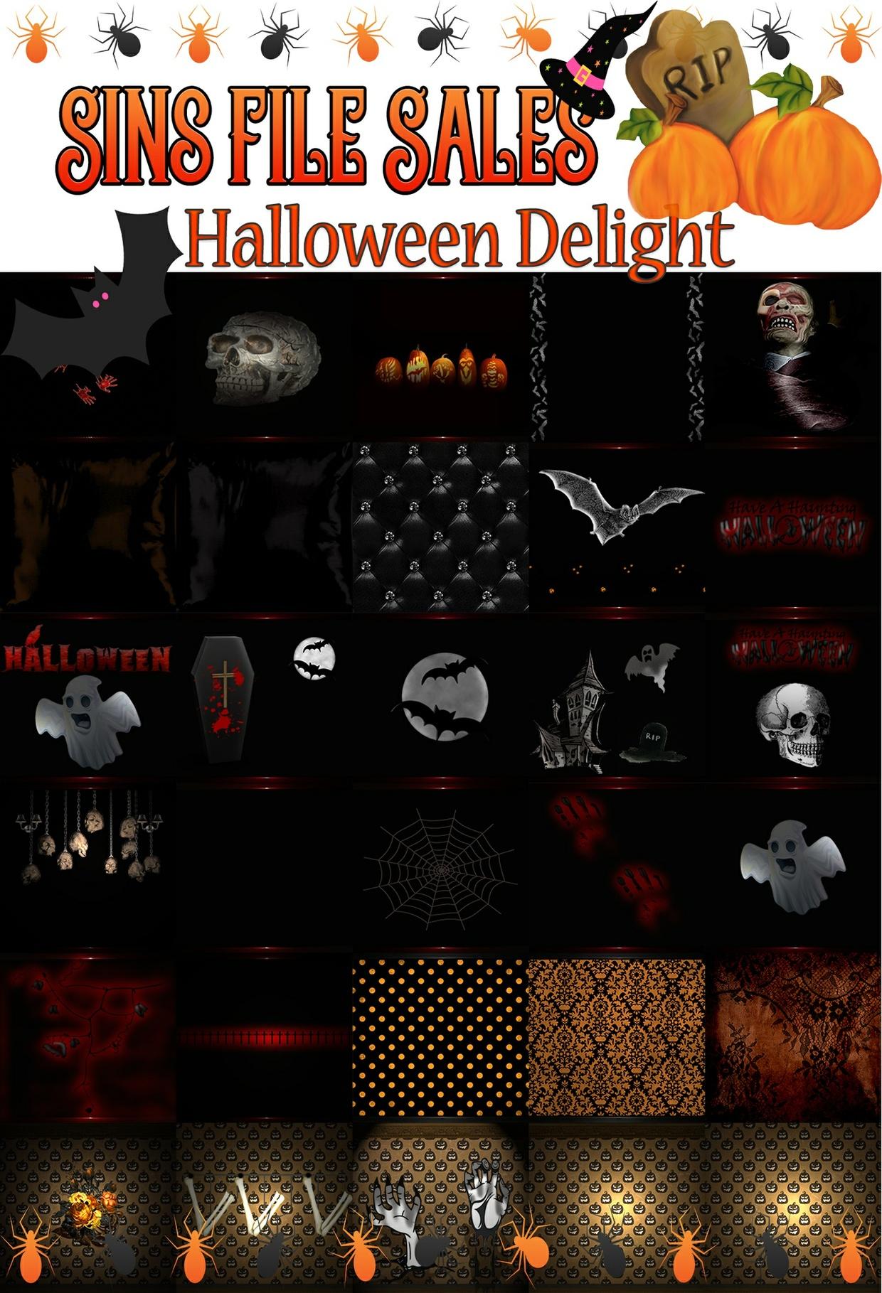 Halloween Delight Texture Pack