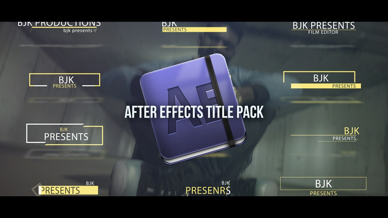 Adobe After Effects INSANE Title Pack