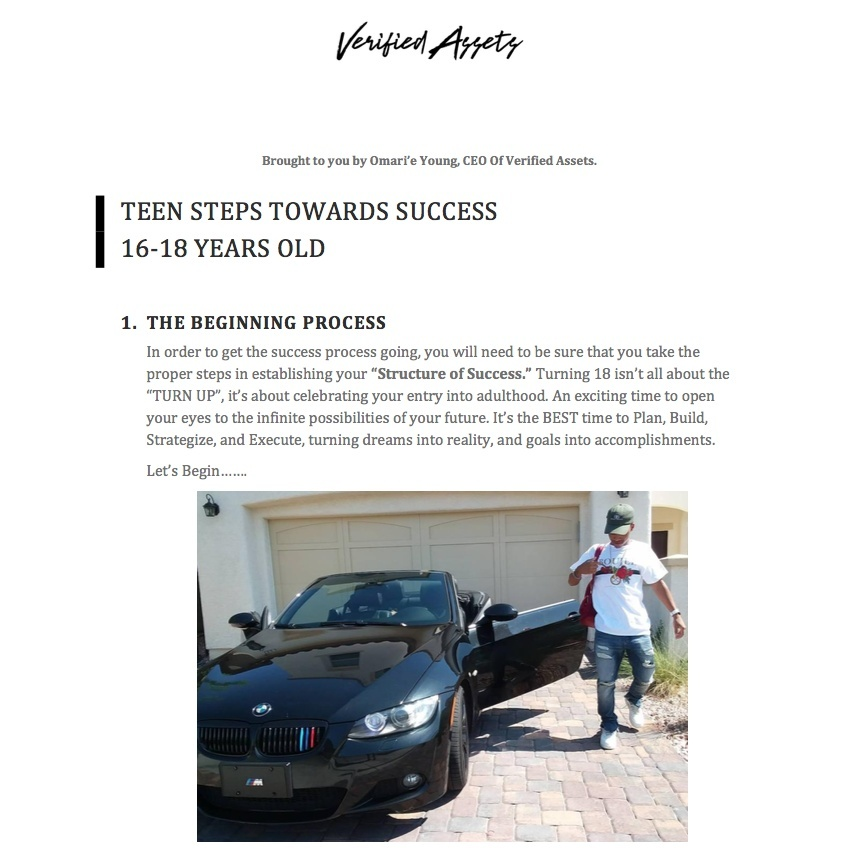 Teenage Success Plan