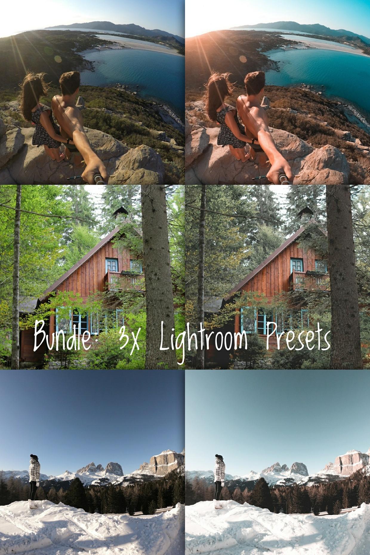 Bundle 3x Lightroom Preset by Sheck