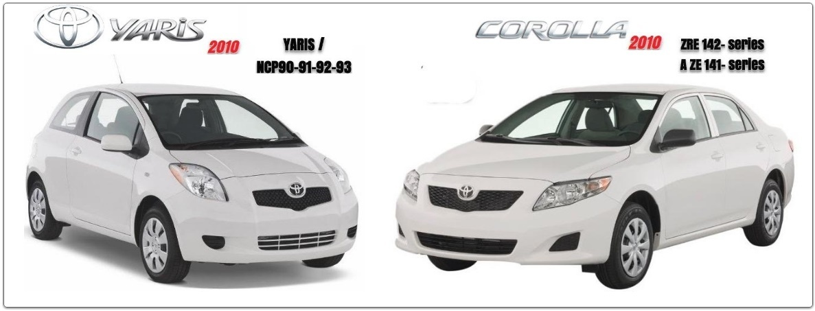 TOYOTA COROLLA & YARIS 2010 GSIC WORKSHOP MANUAL