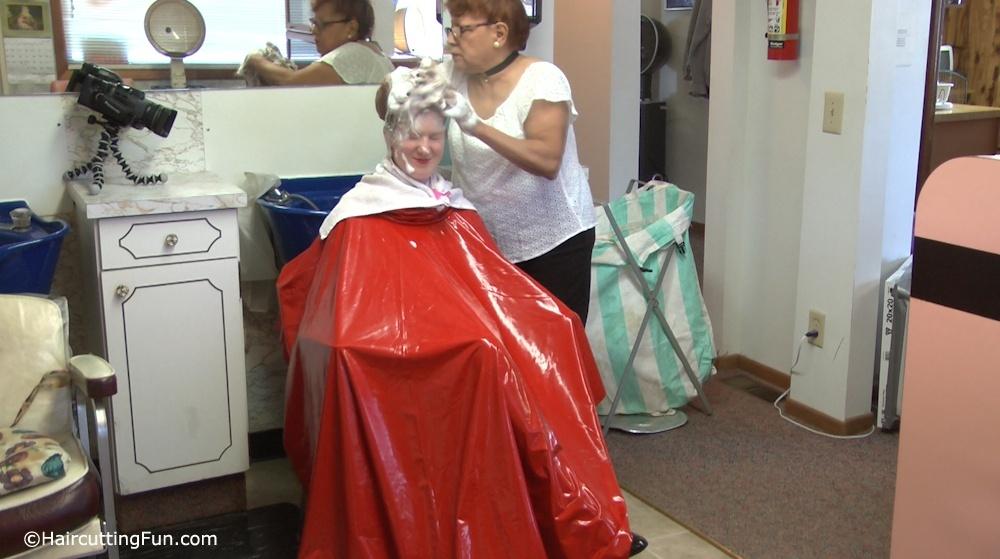 Kat's 3-Way Shampoo at a Beauty Salon  - VOD Download Video on Demand