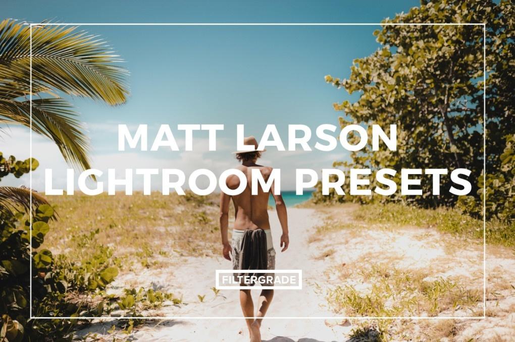 Filtergrade Matt Larson Lightroom Presets
