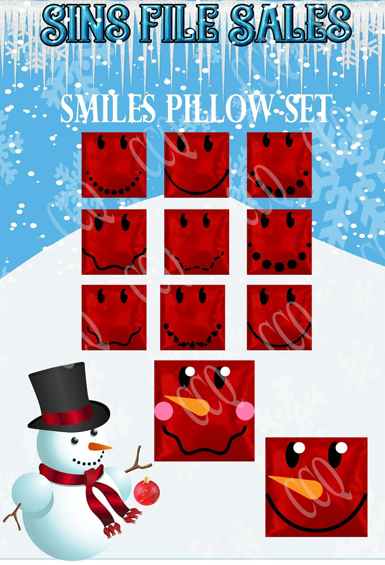 Smiles Pillow Set