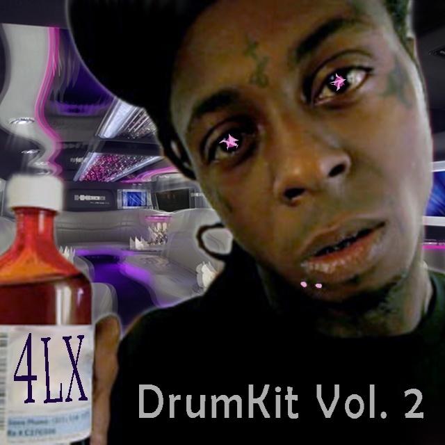 4LX Drum Kit Vol. 2 (Includes Vol. 1)