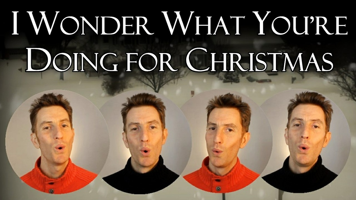 I Wonder What You're Doing For Christmas