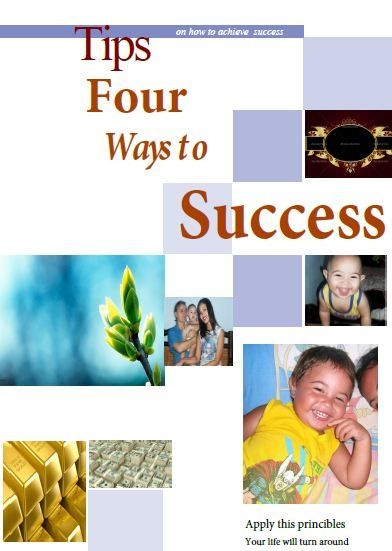 For ways to success