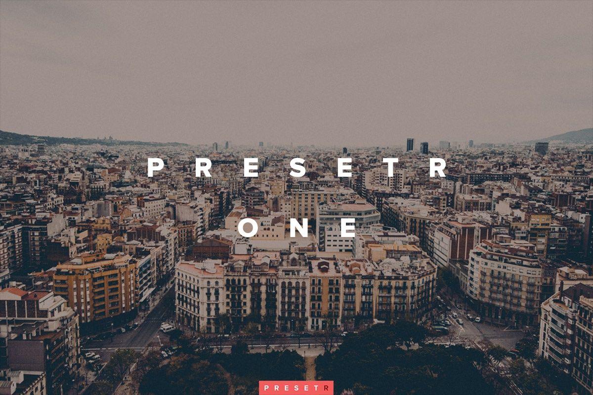 Presetr One