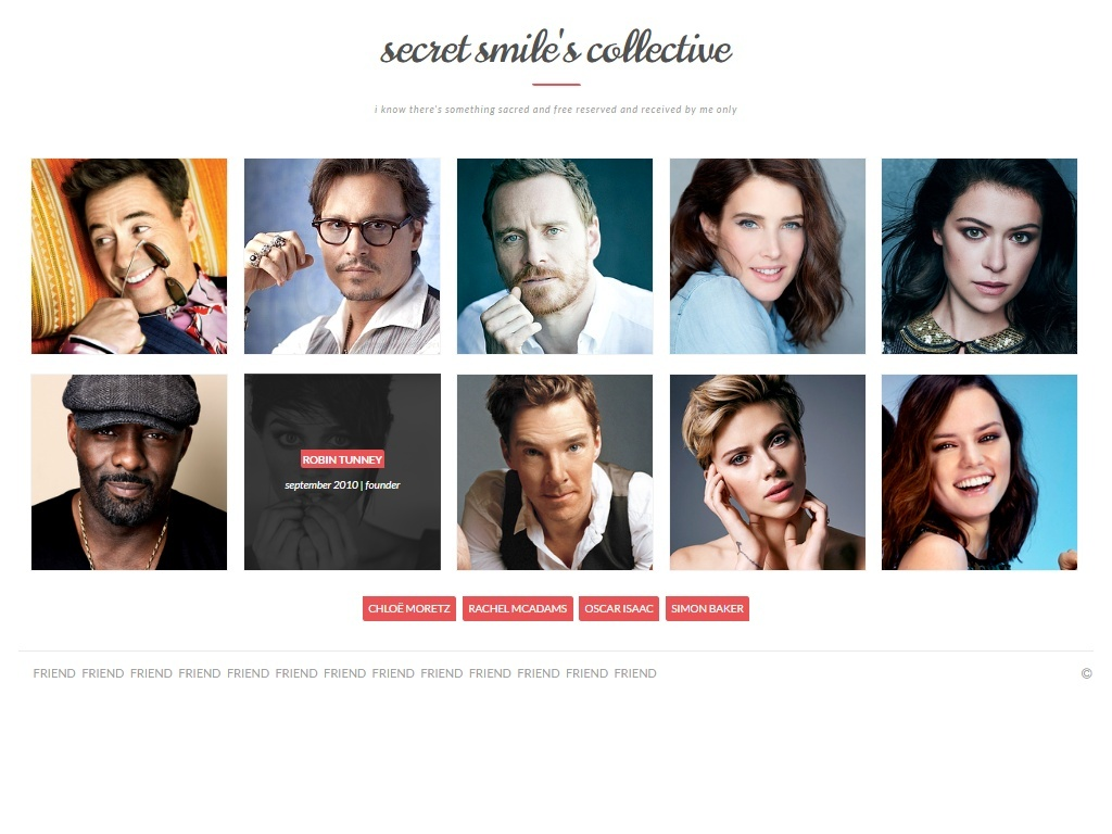 Collective Theme #01 (Responsive)