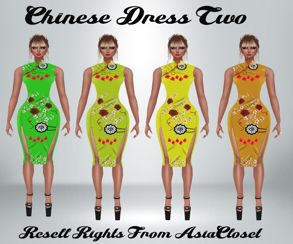 Chinese Dress 2 Catty Only!!!