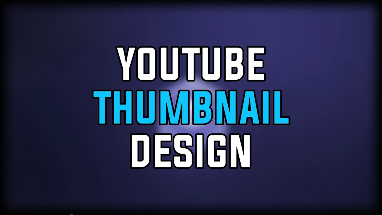 Youtube Thumbnail Design