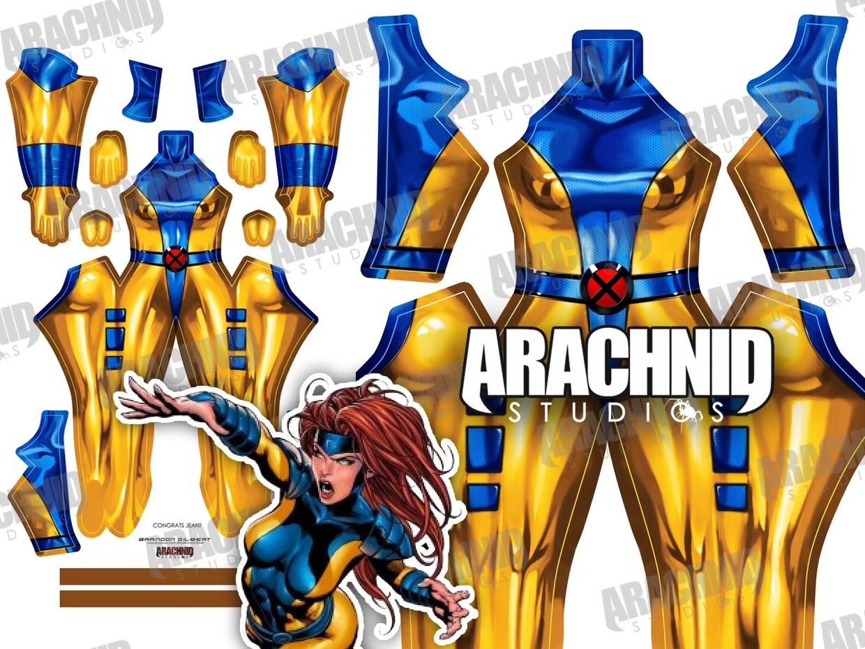 Jean Grey X-Men Dye-sub pattern