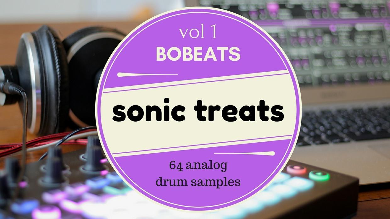 Sonic Treats VOL 1 – 64 Analog Drum Samples