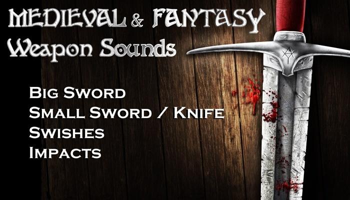 SWORD & KNIFE SOUNDS - Medieval Fantasy Sound Effects