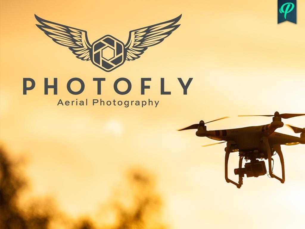 Photofly - Aerial Photography Logo