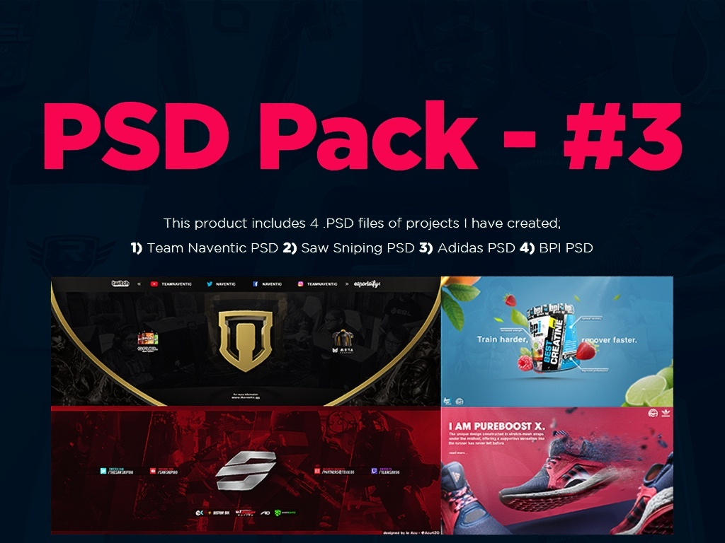 PSD Pack - #3