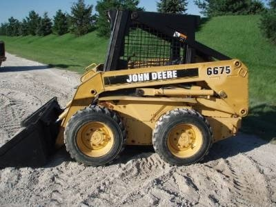 John Deere Skid Steer Loader Models: 4475, 5575, 6675, 7775 Workshop Service Manual