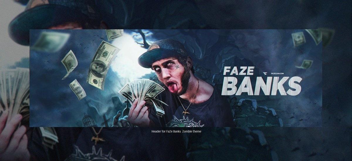 Header for Faze Bank  | Template PSD