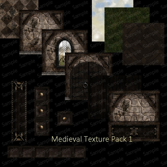 Medieval Texture Pack 1