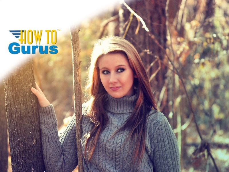 How to Give a Portrait a Soft Warm Light Look in Photoshop Elements 11 12 13 14 Tutorial