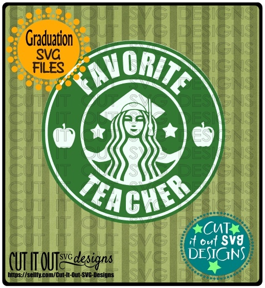 Favorite Teacher Starbucks Logo Design 1