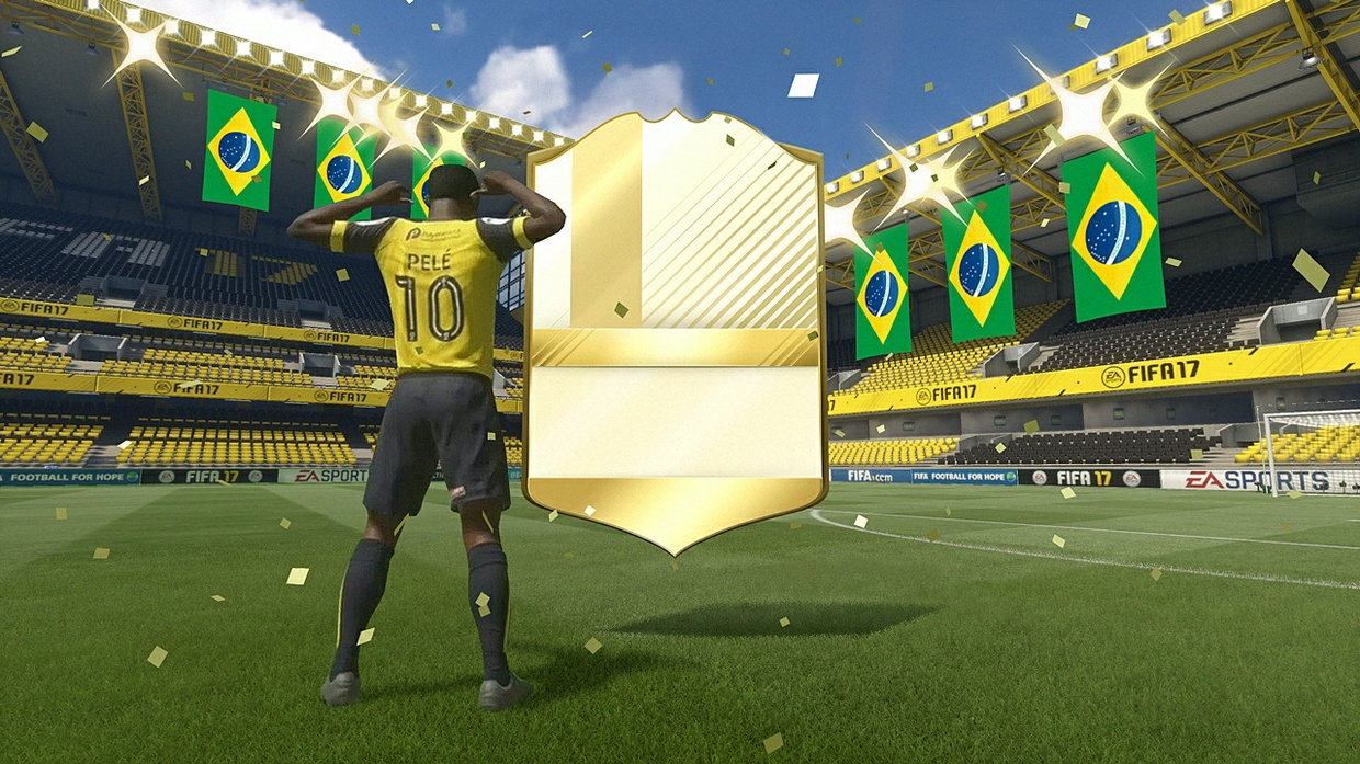 FIFA 17 Pack Burst Editable, walkout renders and more