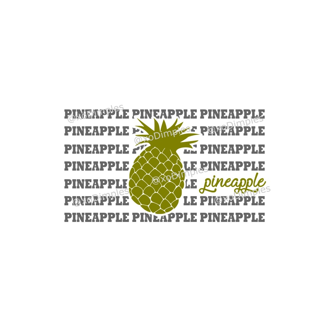 Pineapple Pineapple SVG