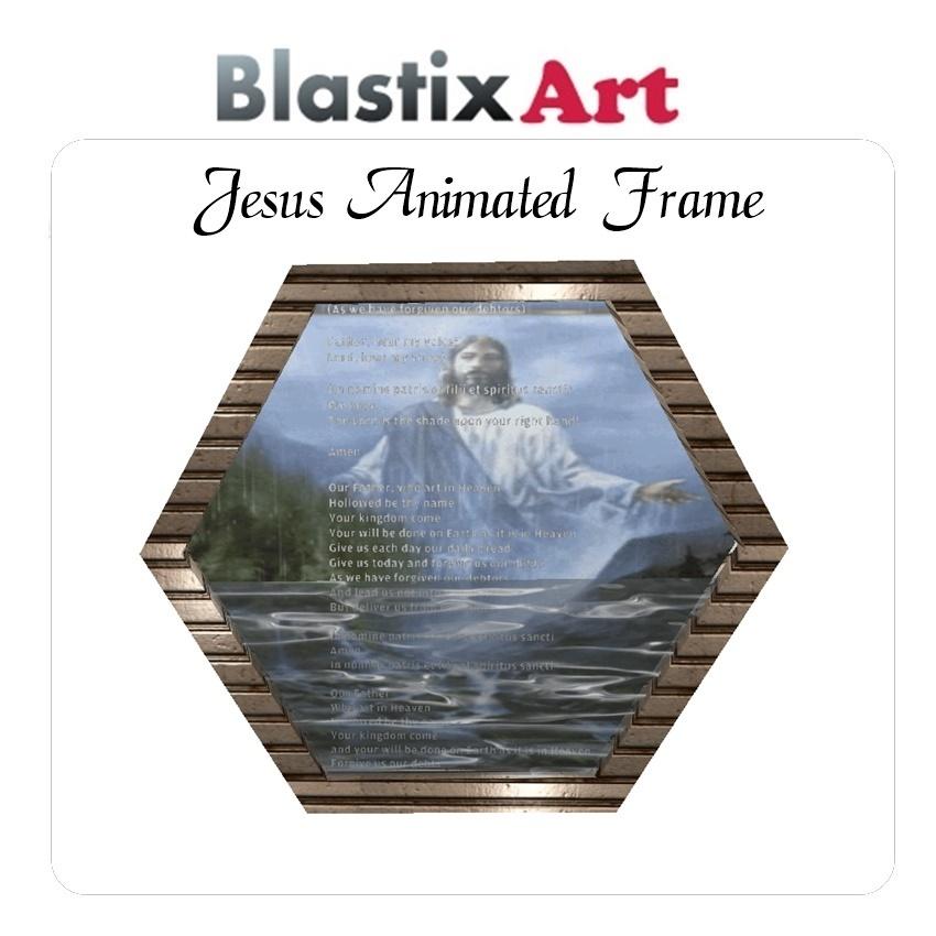 Jesus  Animated  Frame