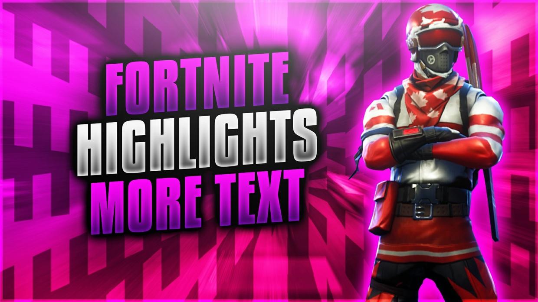 Fortnite YouTube Thumbnail Template Pack
