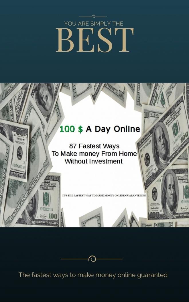 87 Ways To Make $100 Per Day Online