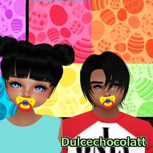 Kid Pacifiers (BOY & GIRL) Animated