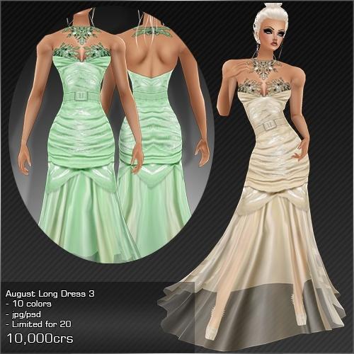 2013 Aug Long Dress # 3
