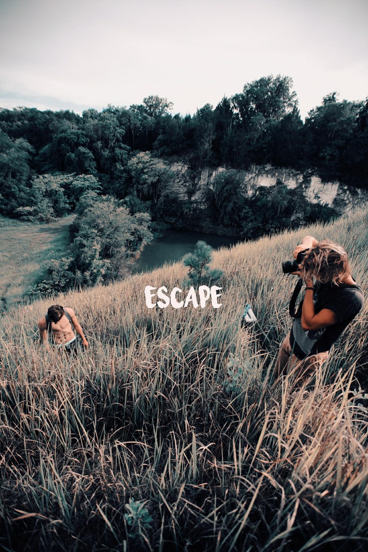 """Mark Harrison Luts """"ESCAPE"""""""
