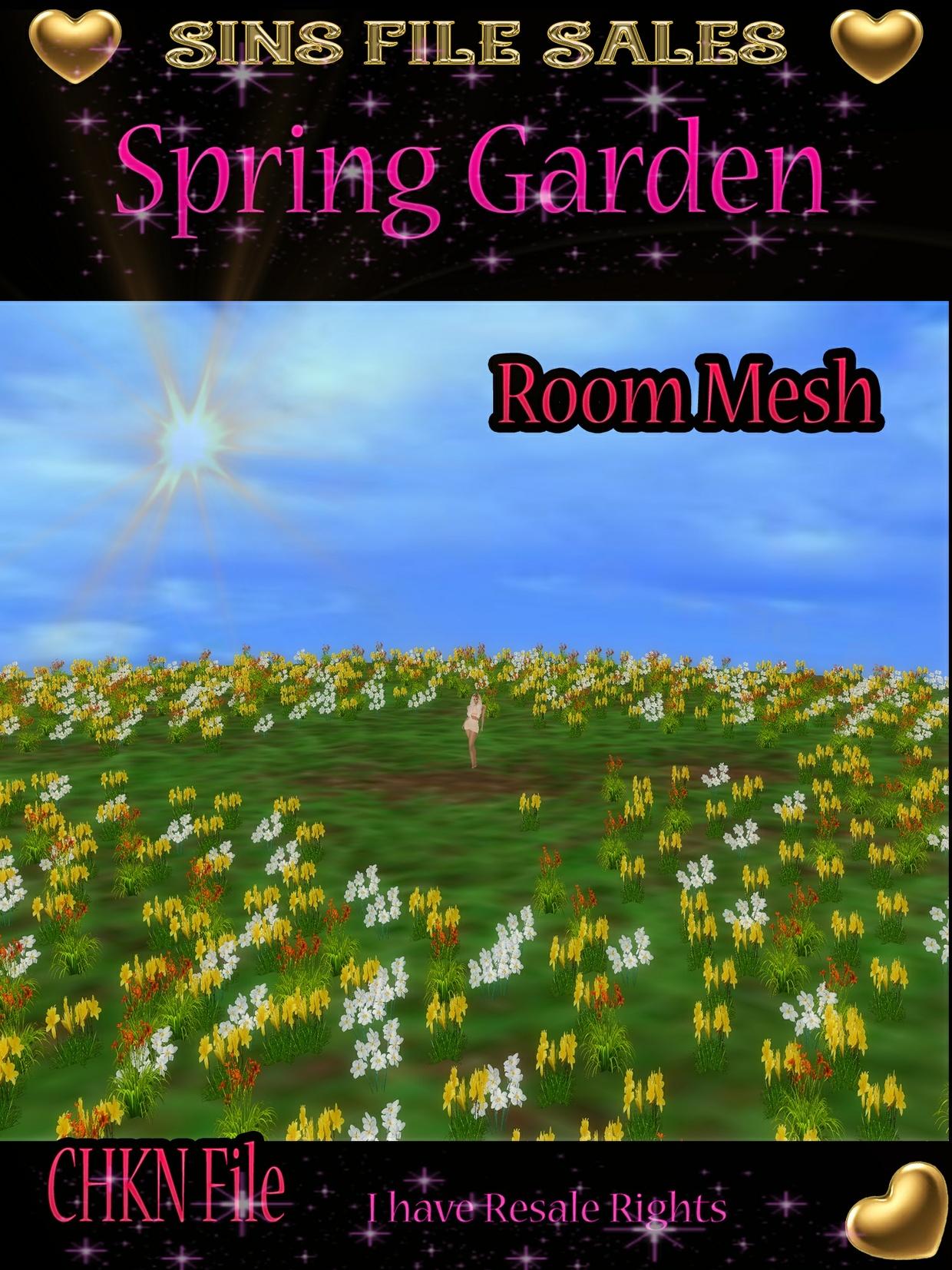 Flower Garden Mesh