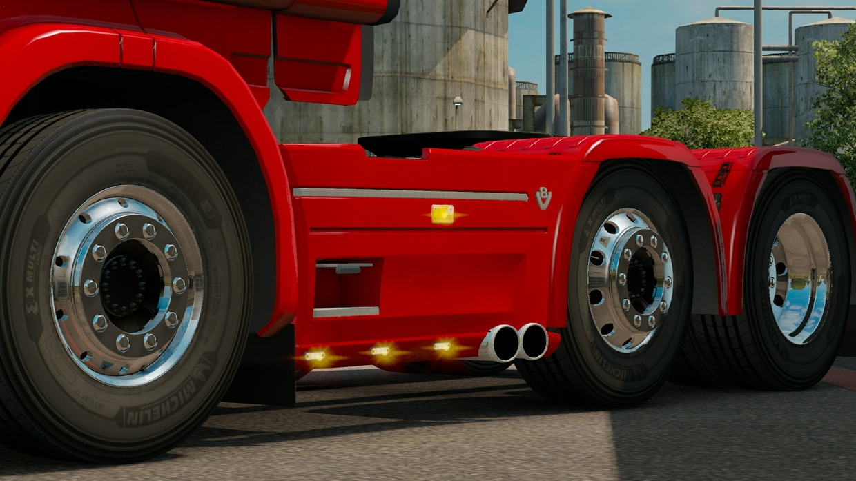 EXHAUSTS PACK