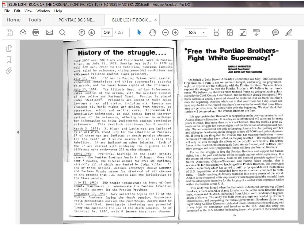 2016 blue light book of the original pontiac brothers 1978 2016 blue light book of the original pontiac brothers of the struggle 1978 malvernweather Gallery